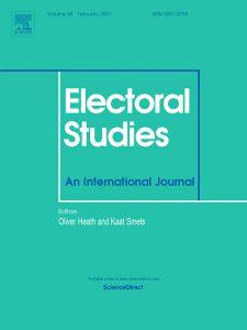 Cover of the Journal Electoral Studies